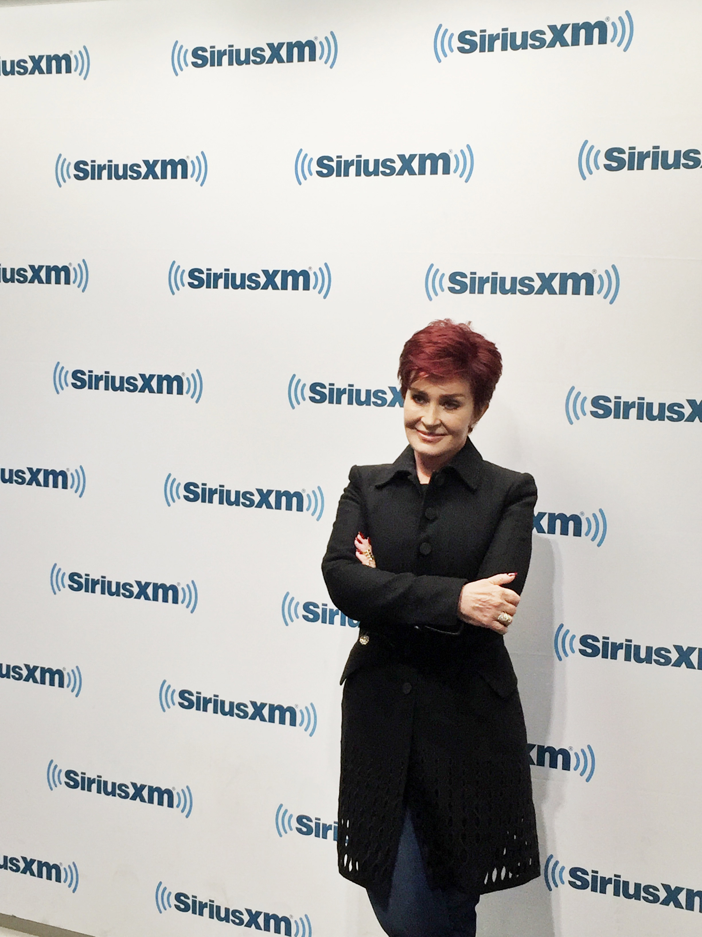Sharon Osbourne visited SiriusXM Radio