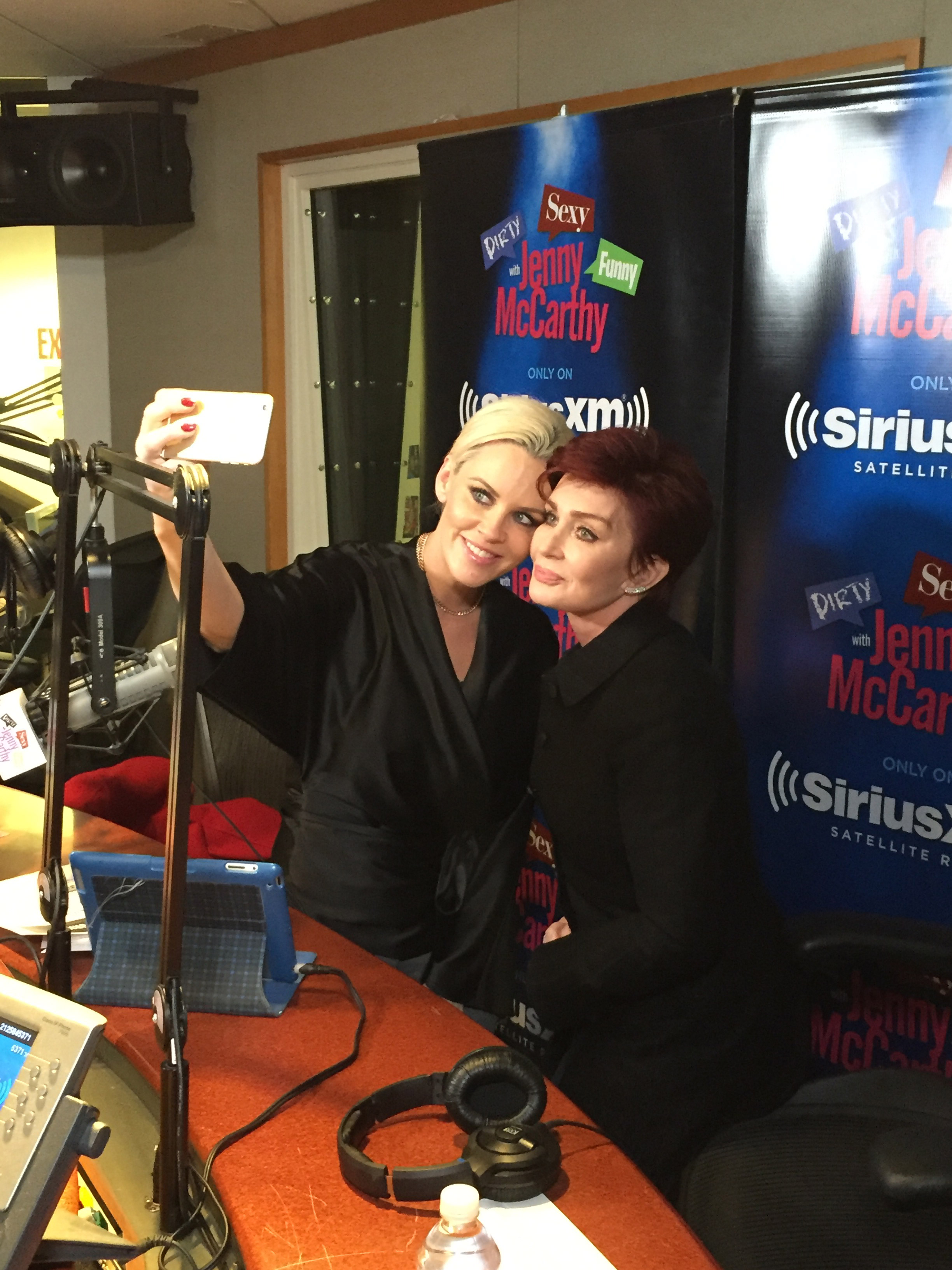 Selfie time with Jenny McCarthy
