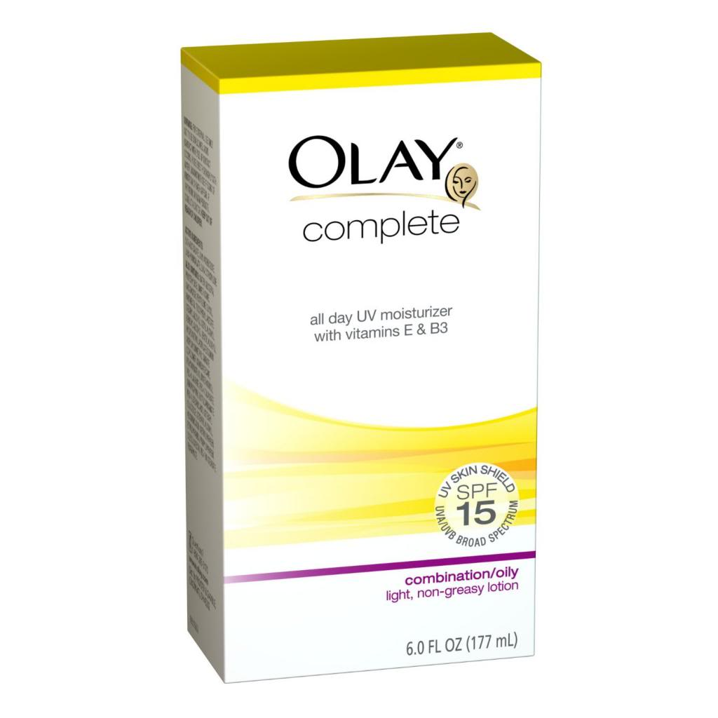 Complete All Day Moisturizer SPF 15 with SolaSheer Technology, Combination/Oily Ski