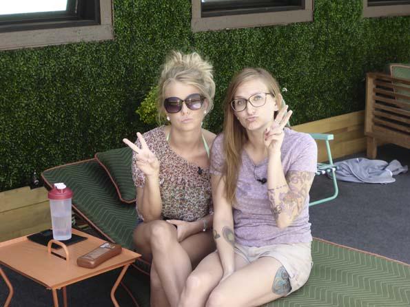 Nicole and Christine