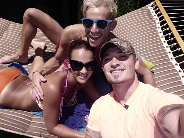 Brittany, Frankie and Caleb