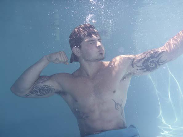 Caleb Underwater