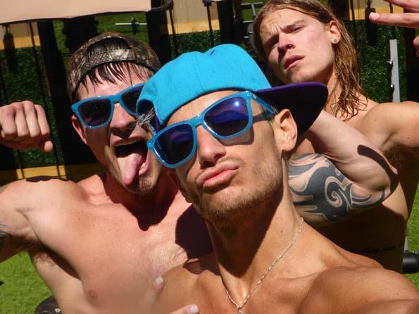 Caleb, Frankie, Hayden