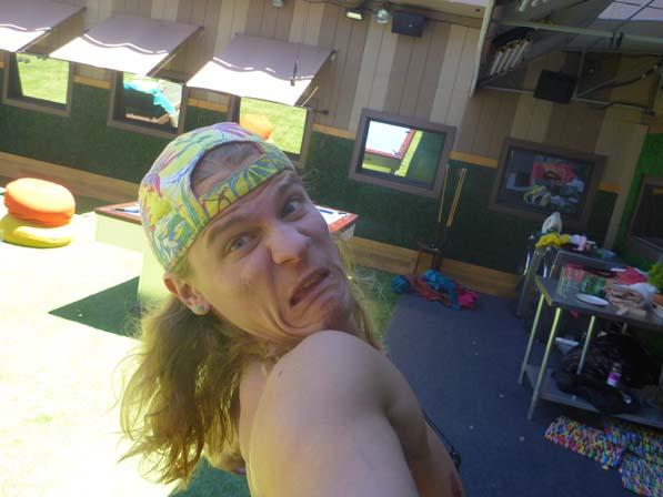 Hayden's selfie
