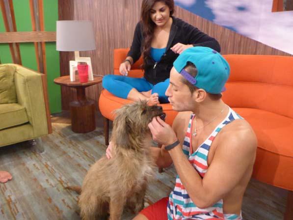 Frankie with Izzy
