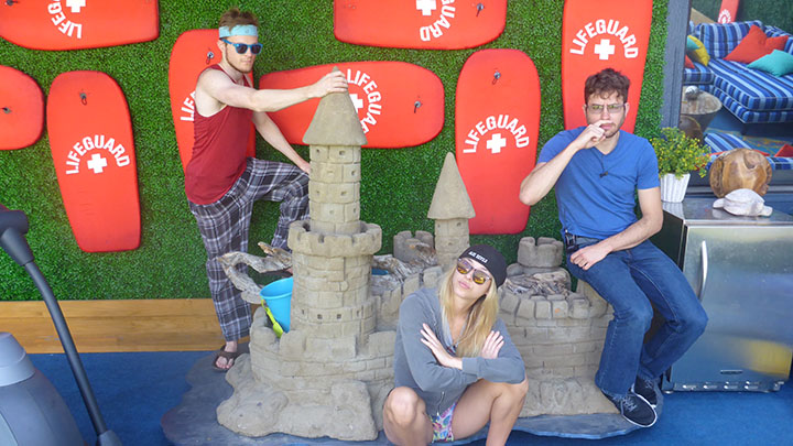 A sandcastle shindig