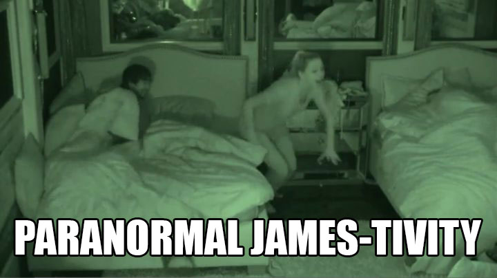 James plants another sneak attack.