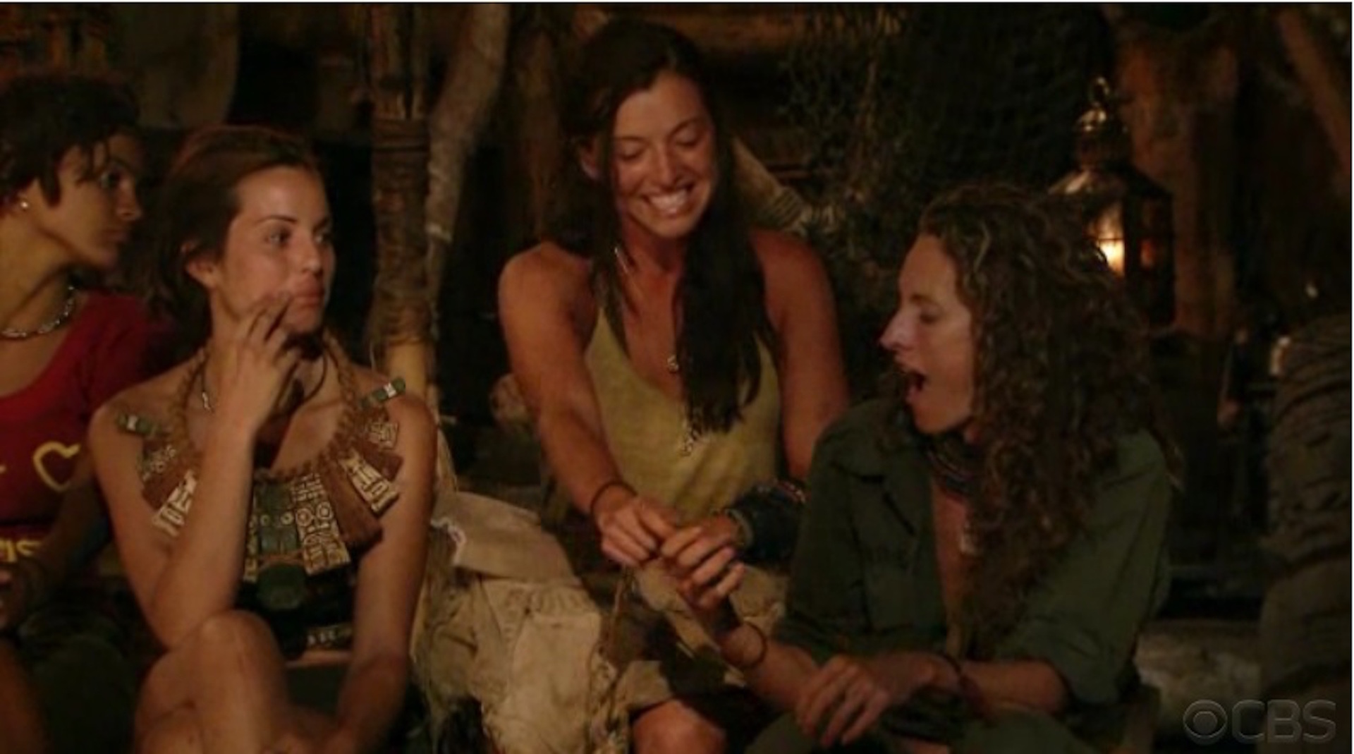 Parvati Shallow plays two Idols on Survivor: Heroes Vs. Villains
