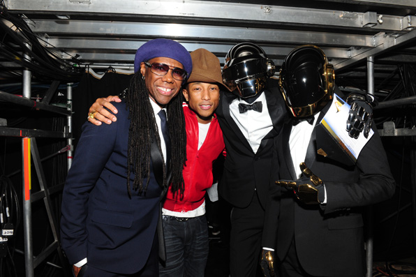 22. Nile Rogers, Pharrell Williams, Daft Punk