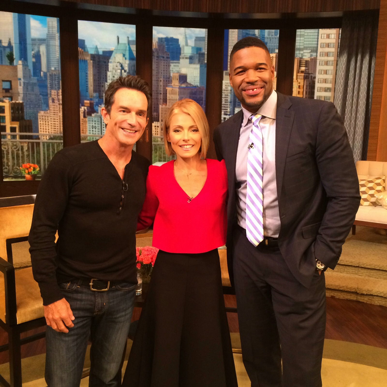 Jeff Probst on LIVE with Kelly and Michael