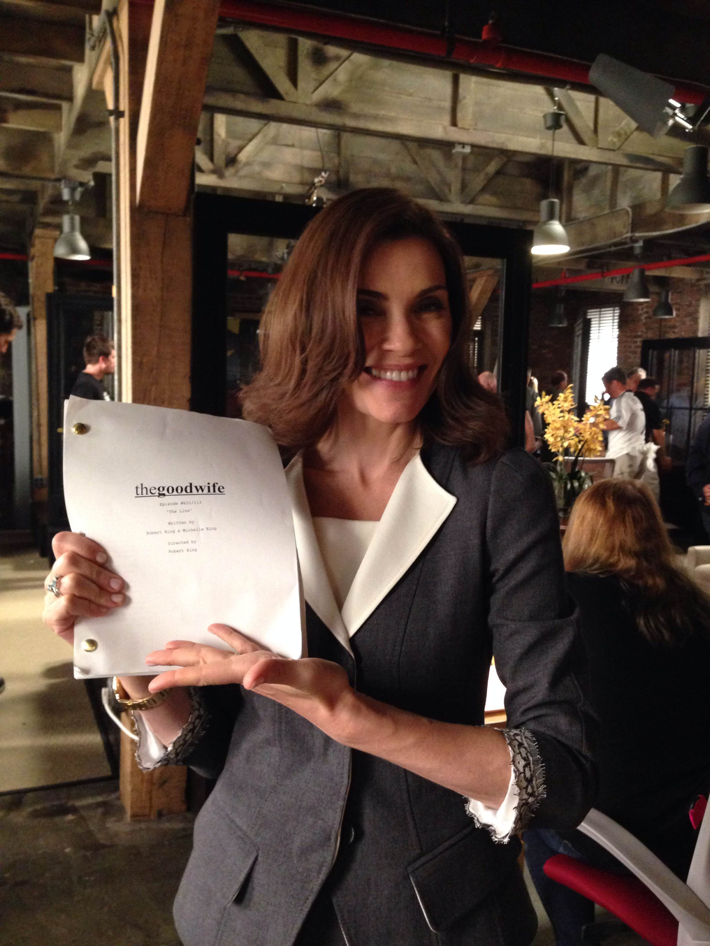 Julianna Margulies - Season 6 Production - The Good Wife