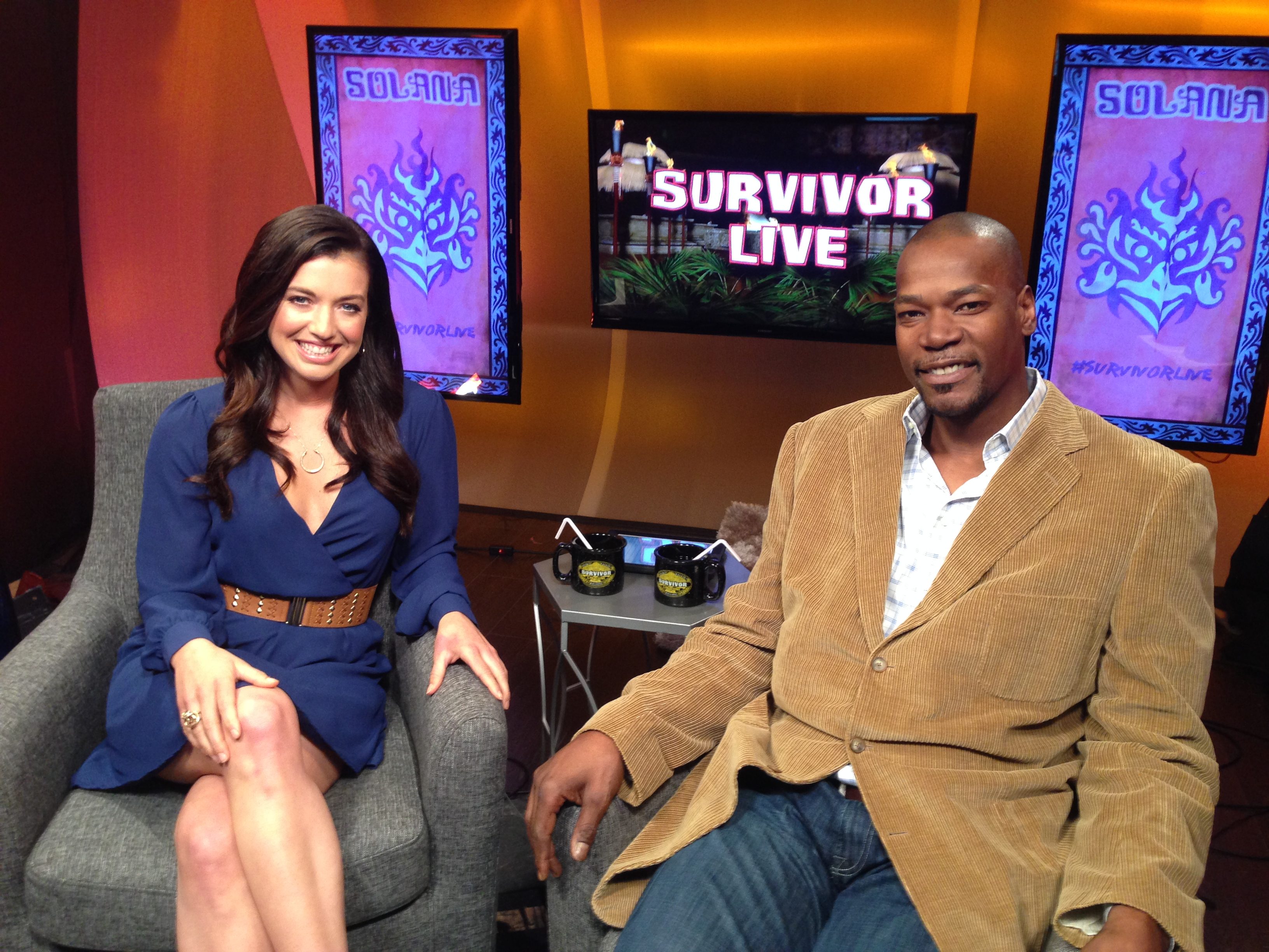 Cliff visits Survivor Live