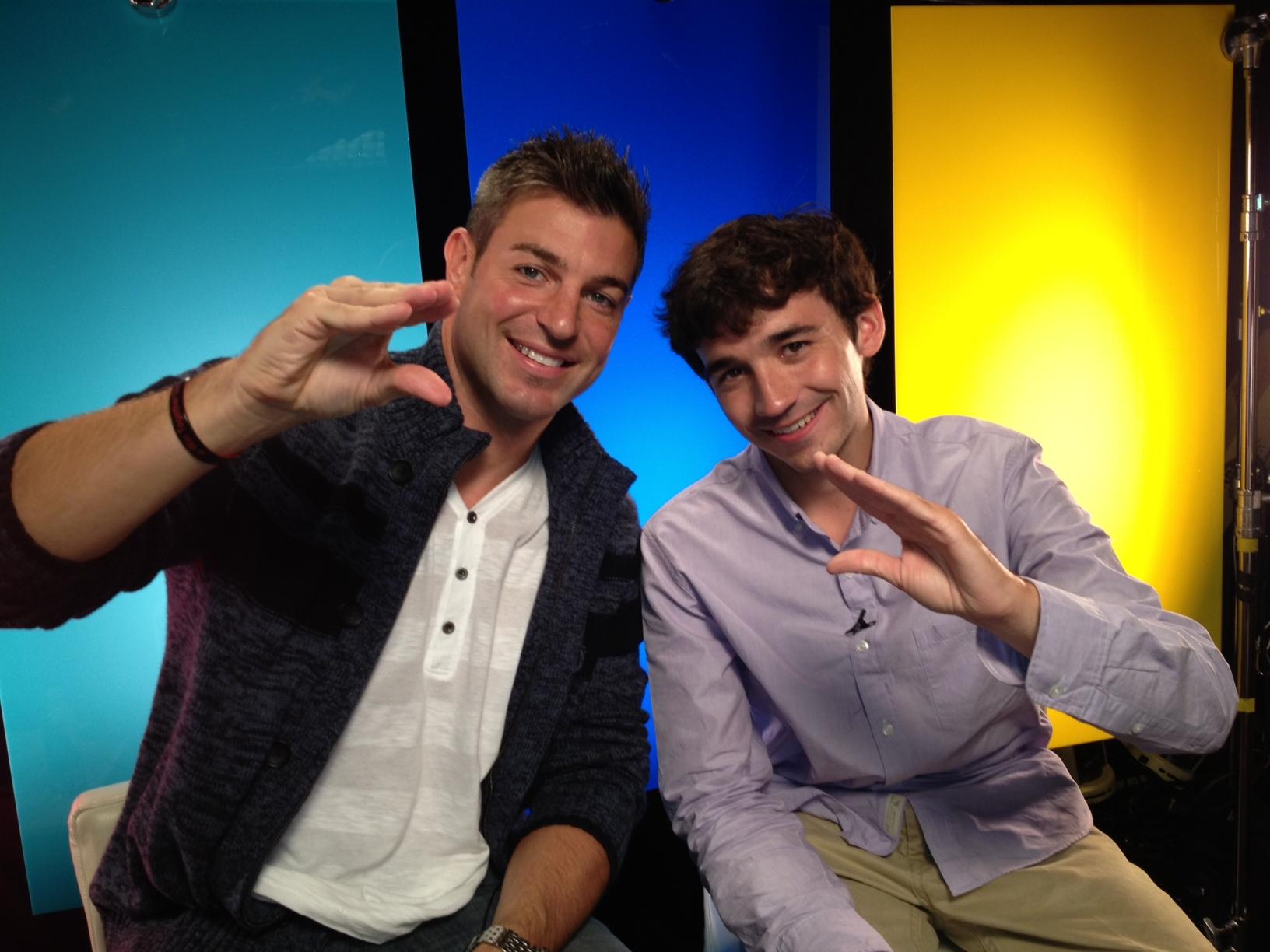 Jeff and Ian