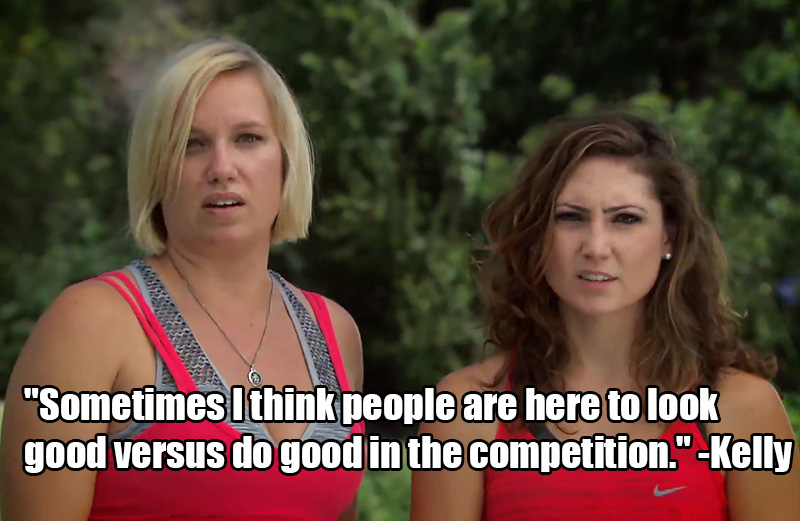 4. Kelly and Shevonne sniffed out their competition and had a lot to say about 'em.