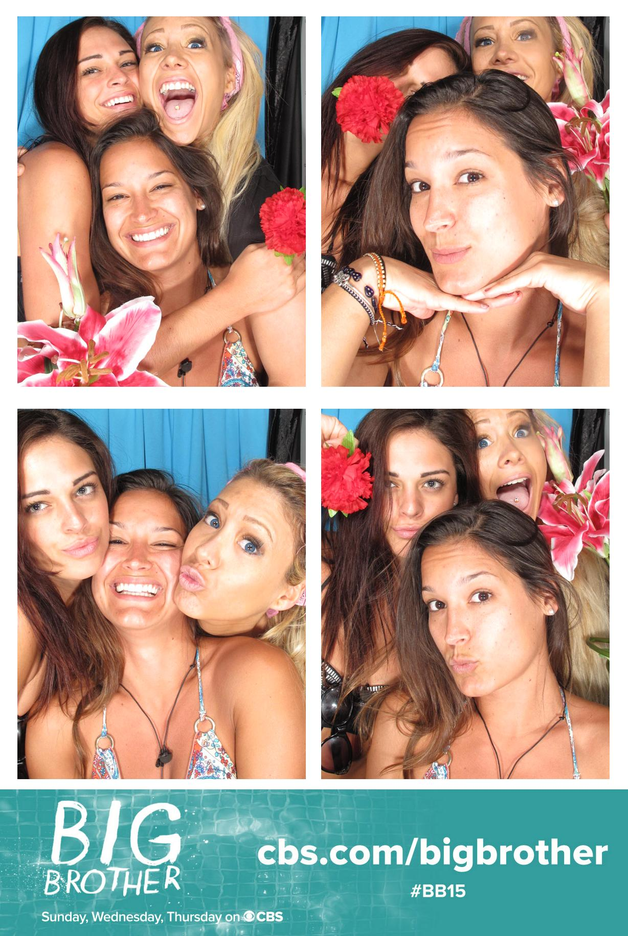 Ladies in the Photo Booth