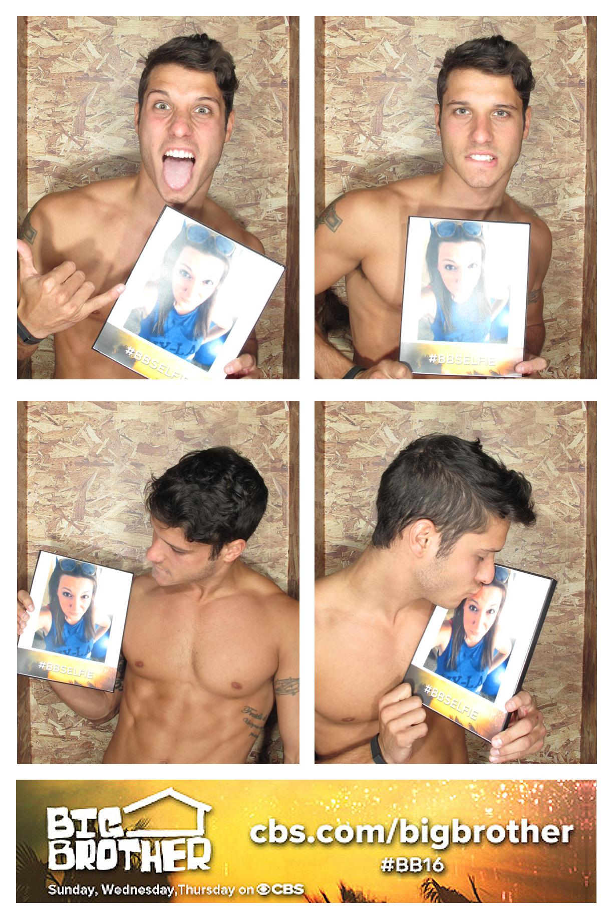 Shirtless kisses