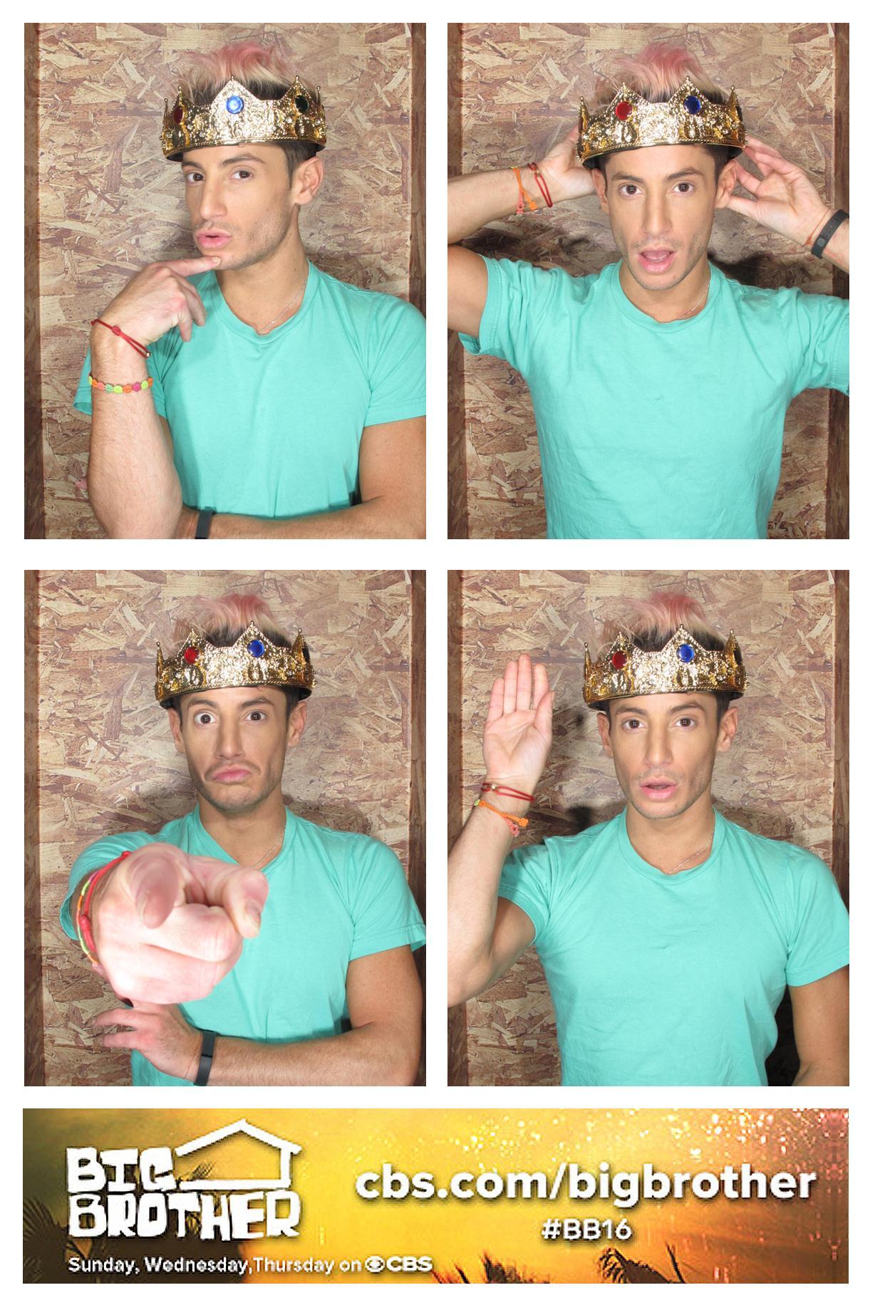 Frankie the photobooth king