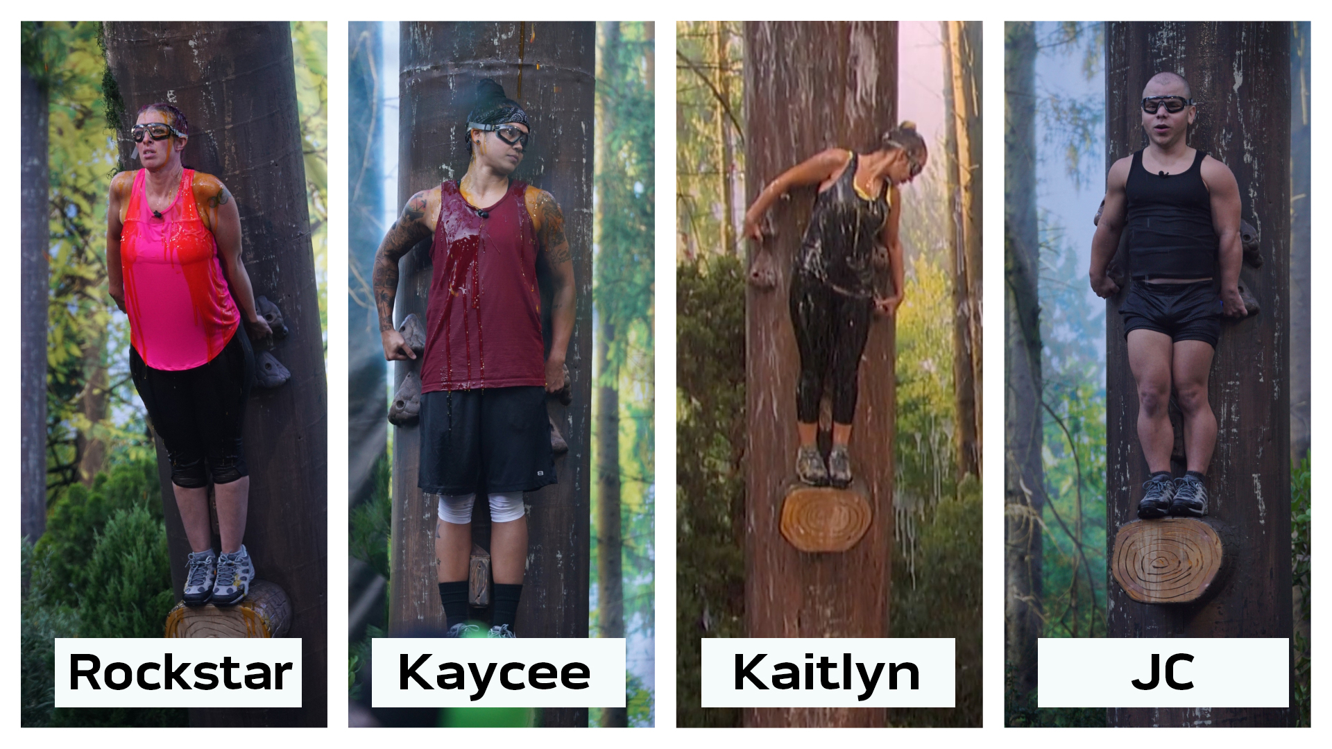 Who was the first person to fall off their log in the
