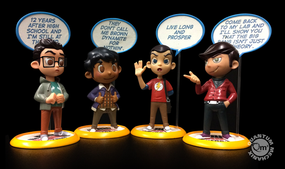 The Big Bang Theory Q-Pop Figures