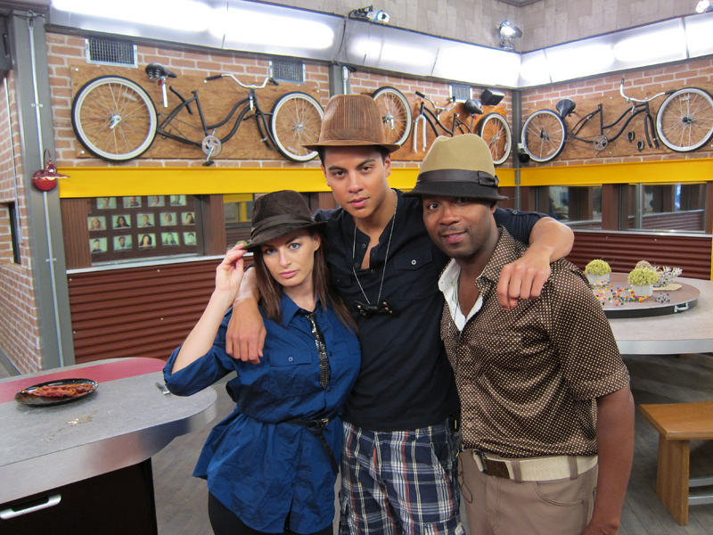 Rachel, Dominic, and Lawon