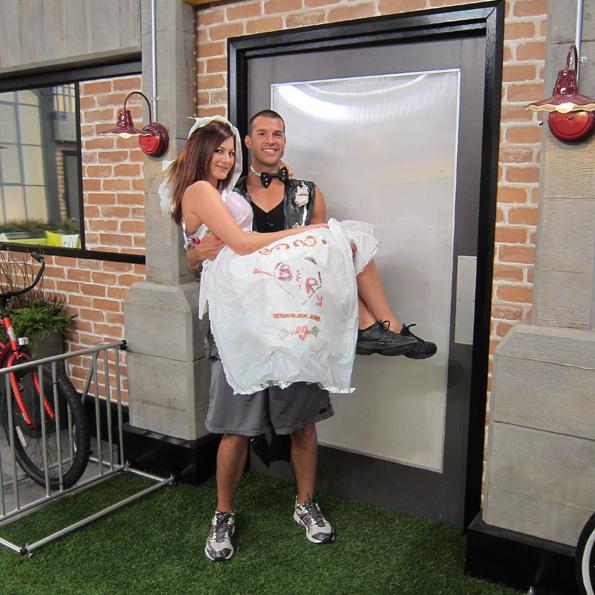 Rachel and Brendon: Newlyweds!