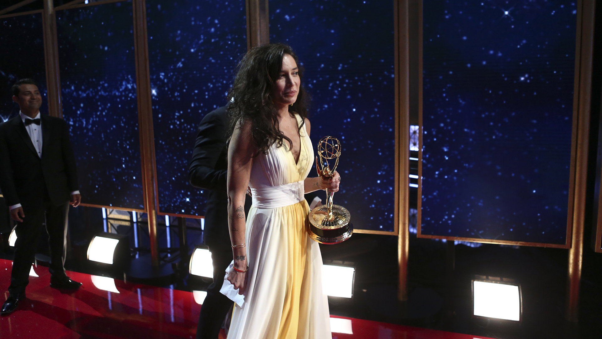 Reed Morano wins Outstanding Directing for a Drama Series at The 69th Emmy Awards.