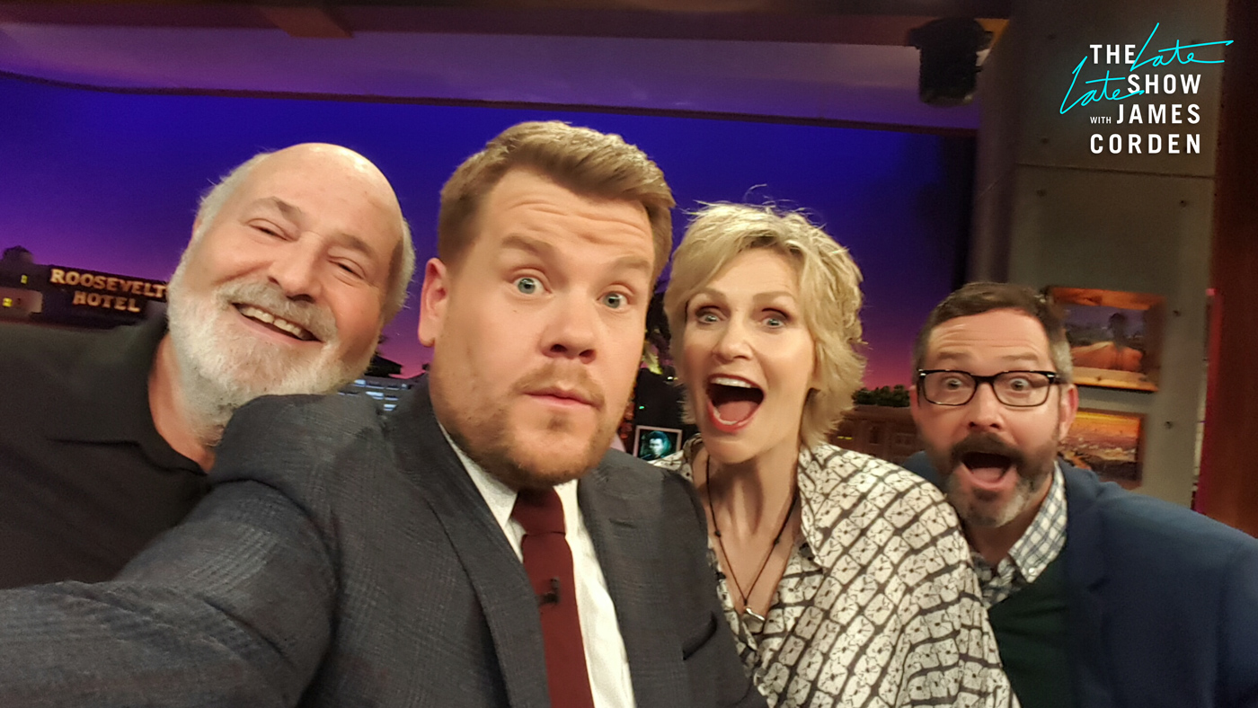 Rob Reiner, Jane Lynch and Thomas Lennon