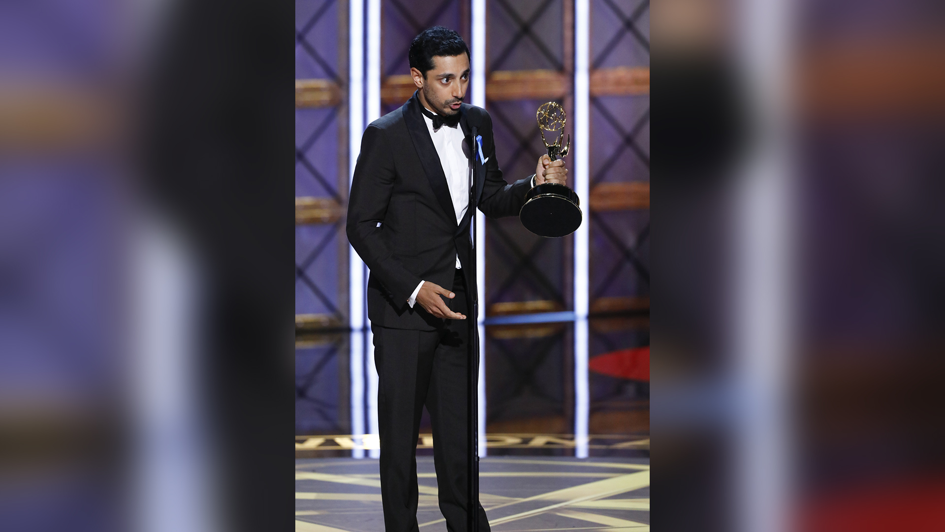 Riz Ahmed wins Outstanding Lead Actor in a Limited Series or Movie at The 69th Emmy Awards.