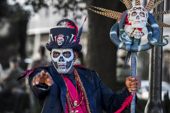 1. Mr. Voodoo's mask