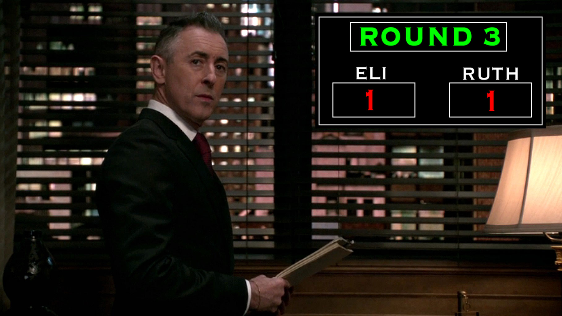 Round Three: Blows Thrown At The Florrick Office