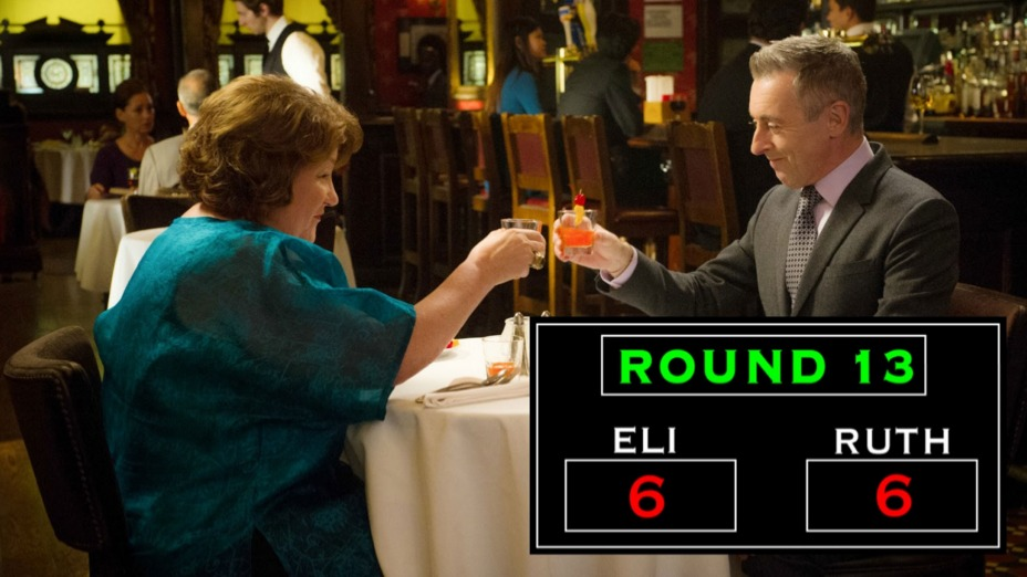 Round 13: Ruth Extends An Olive Branch In The Form Of An Alabama Slammer