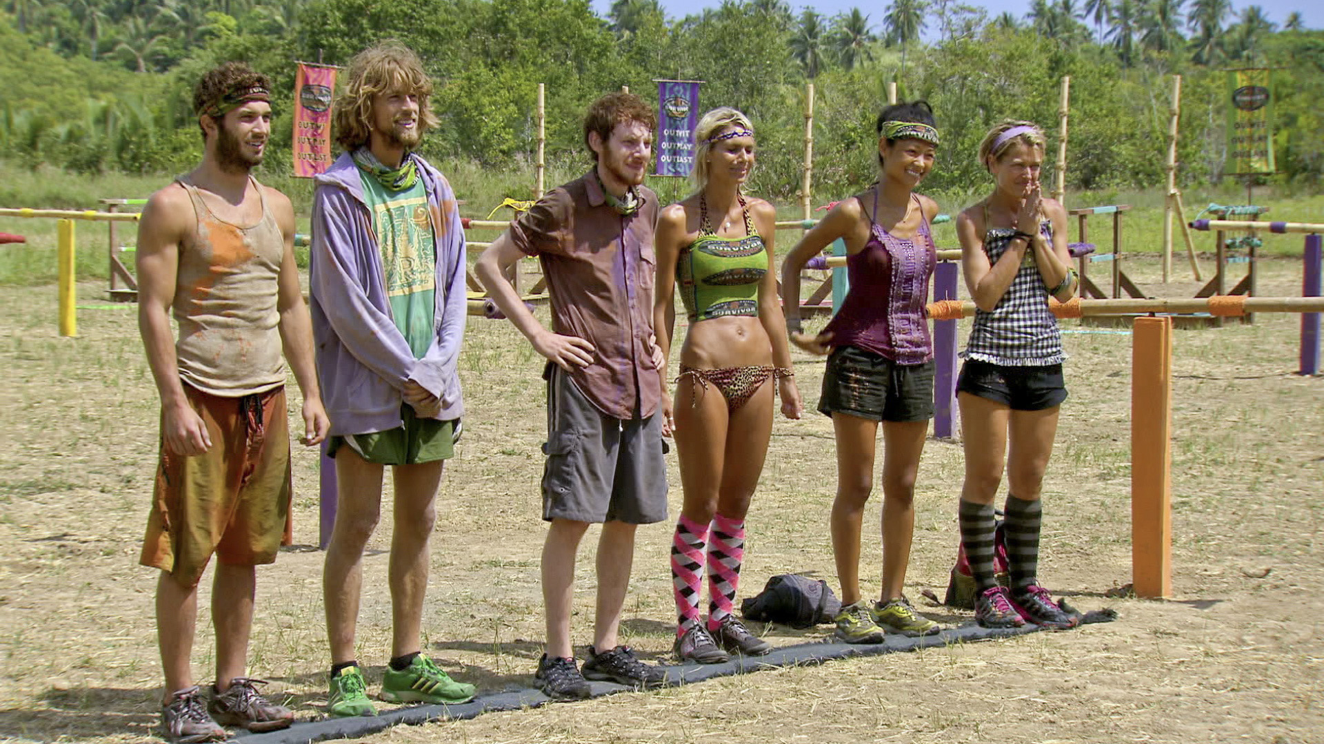 The final 6 Survivors in
