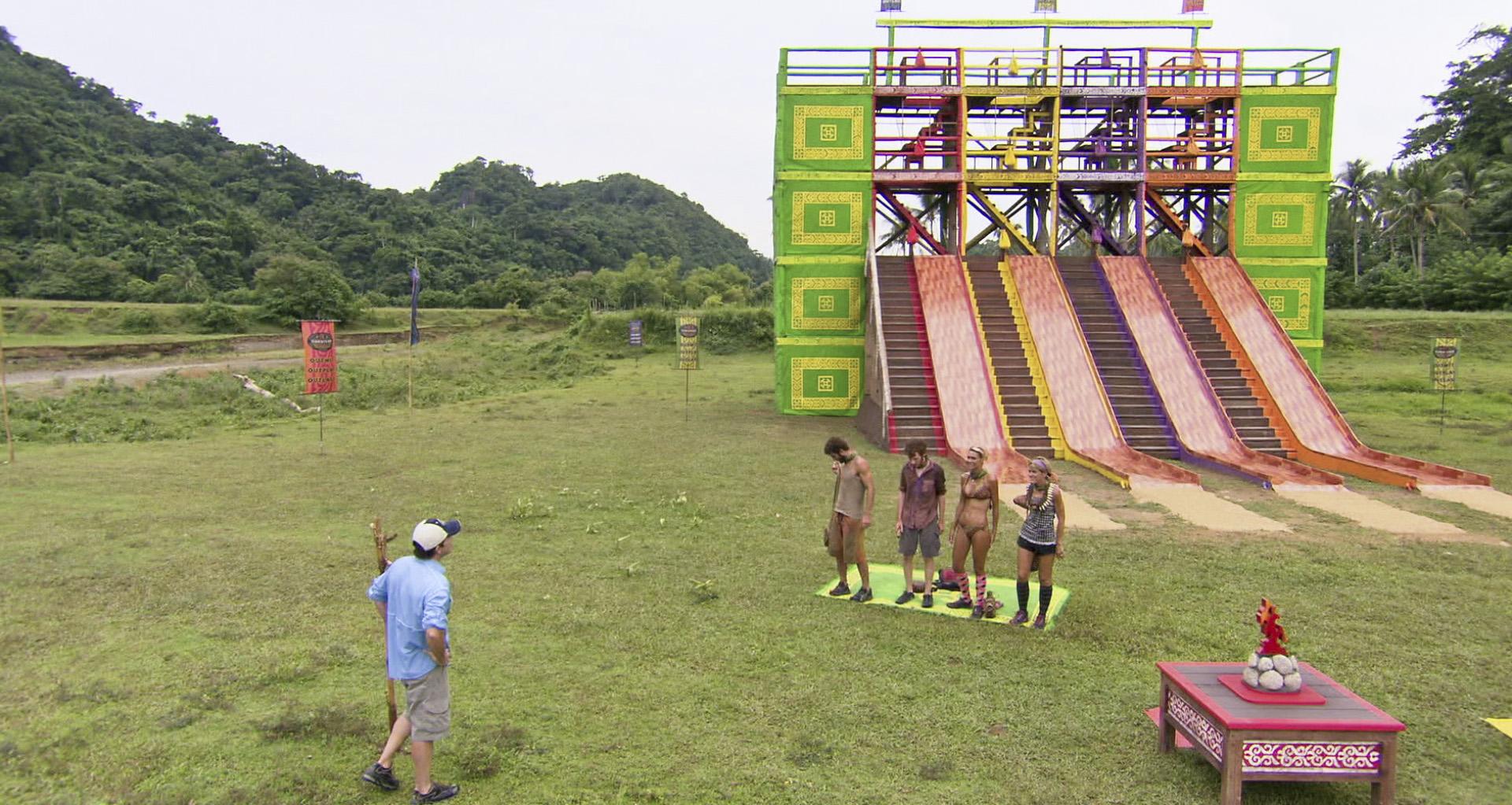 Immunity Challenge in the Season 26 Finale