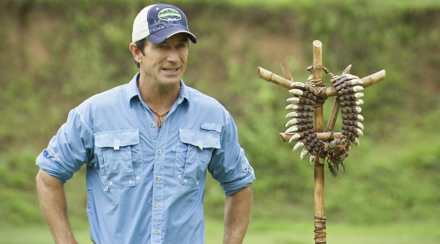 Jeff Probst in the Season 26 Finale