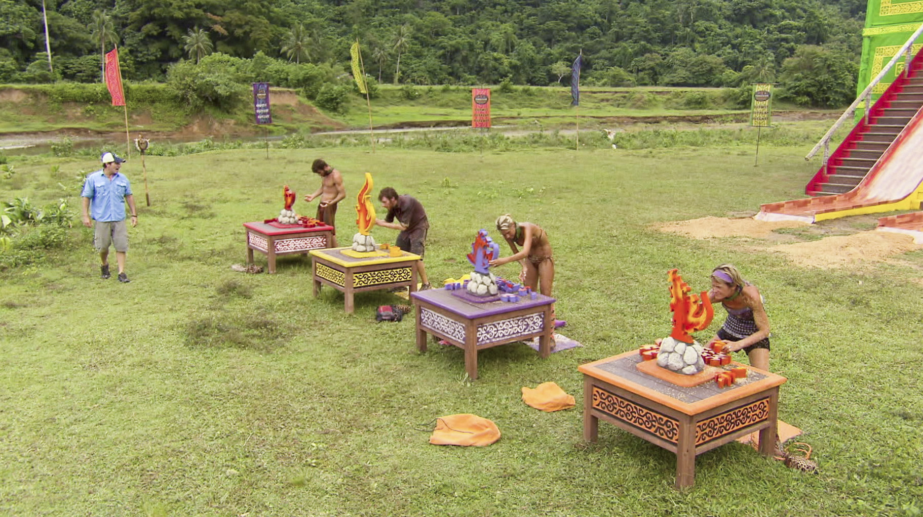 Immunity Challenge Competition in the Season 26 Finale