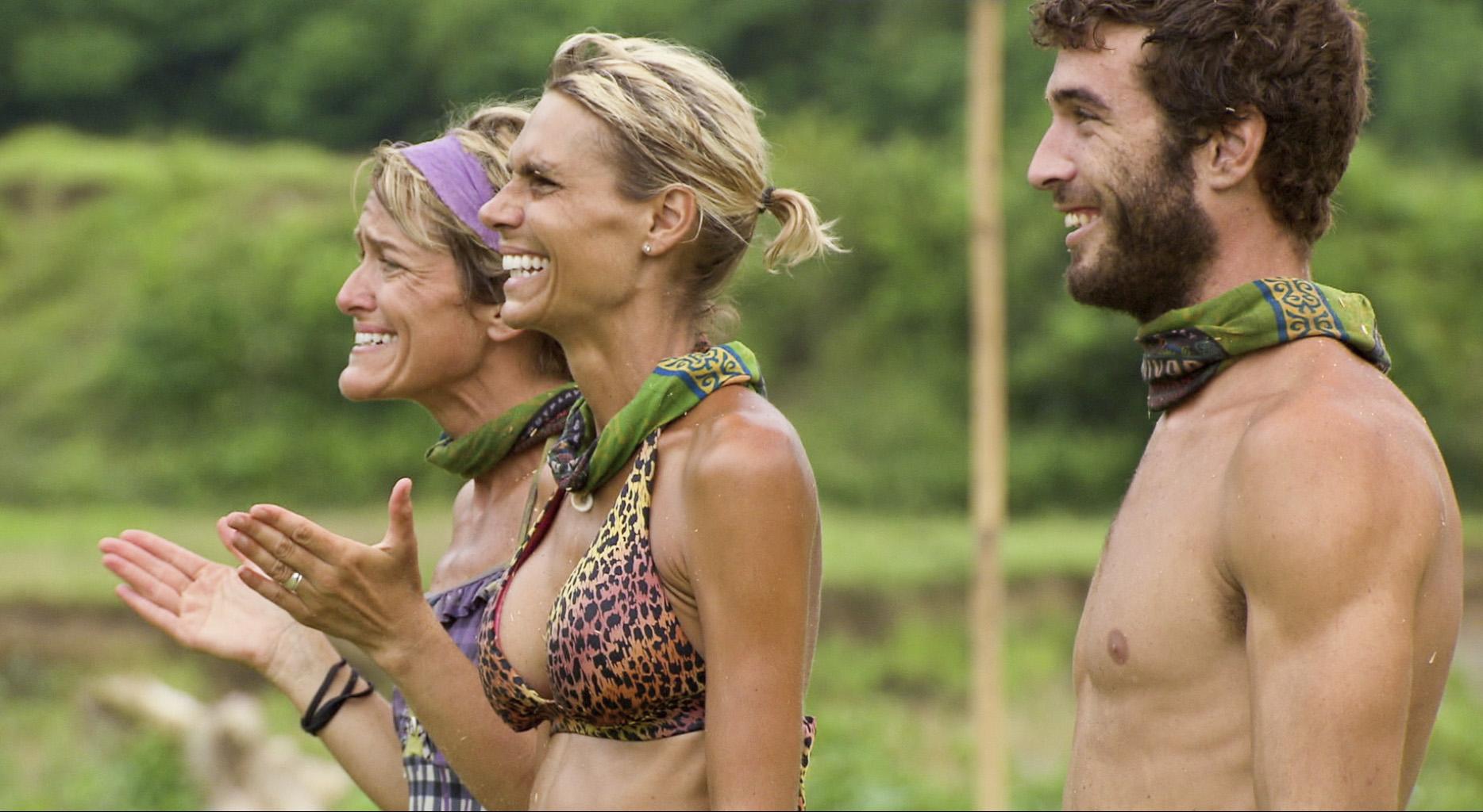 Dawn, Sherri and Eddie in the Season 26 Finale