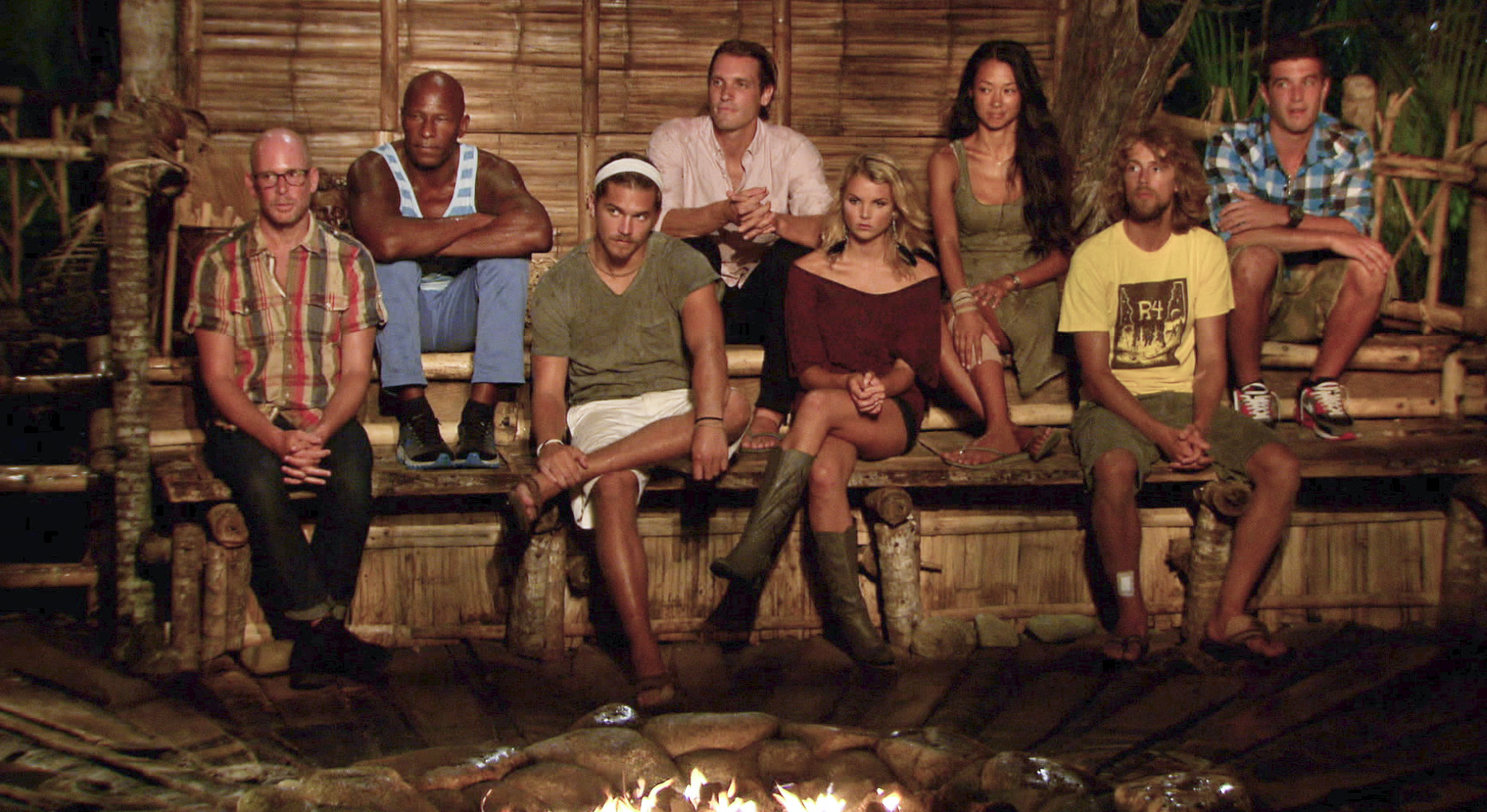 The jury in the Season 26 Finale