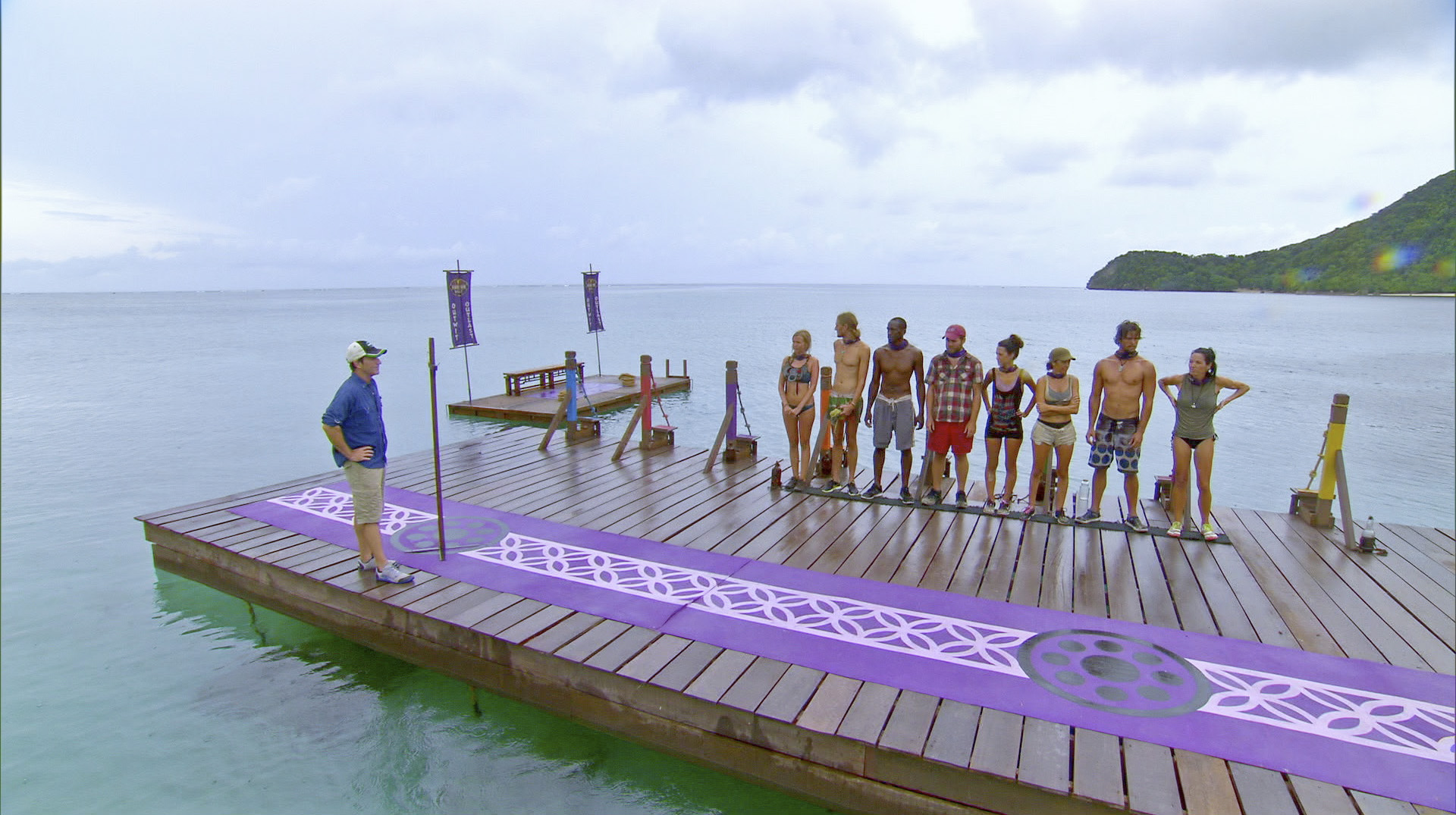 Getting ready for the challenge in Season 27 Episode 10