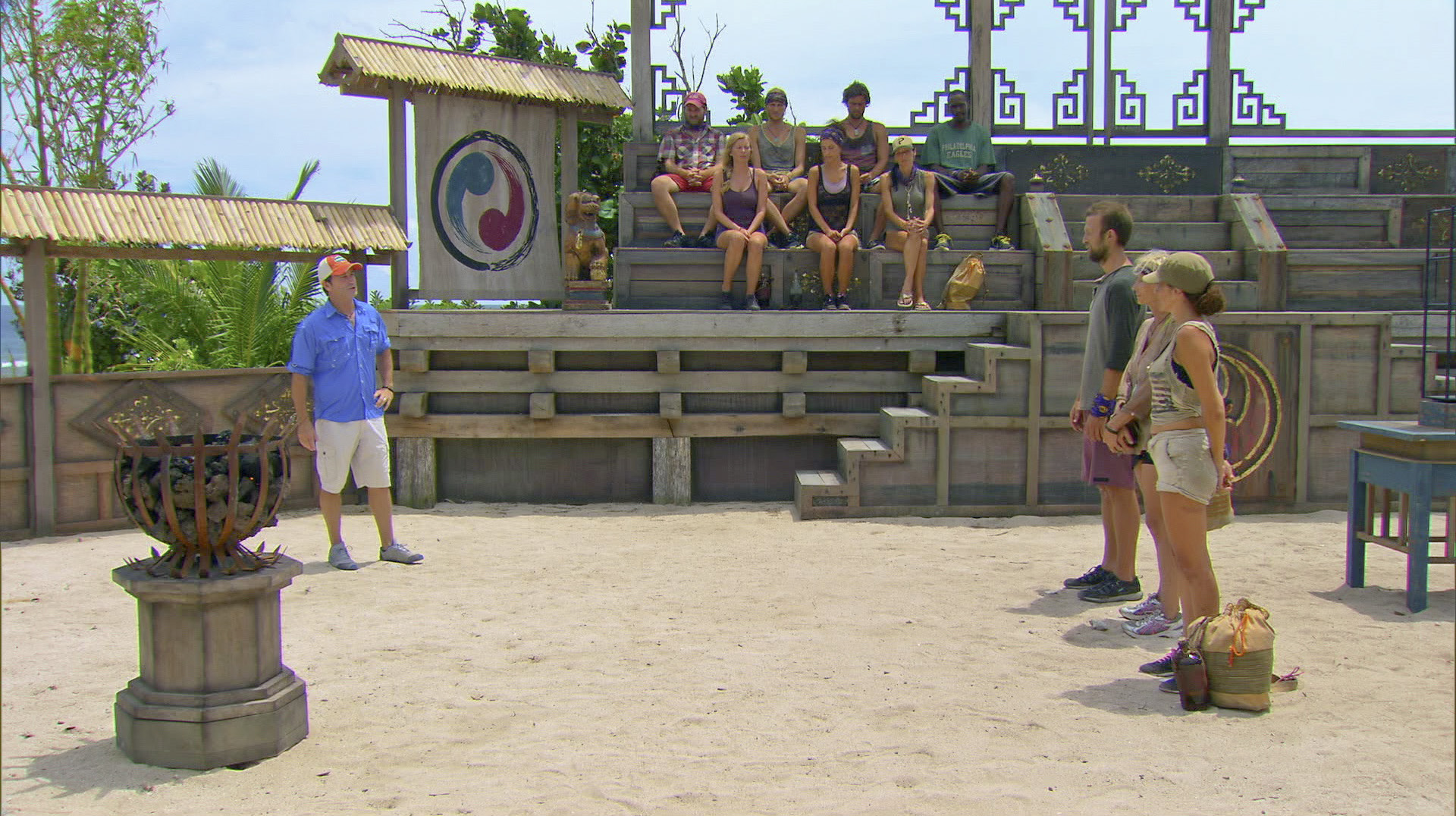 Getting ready for the challenge in Season 27 Episode 11