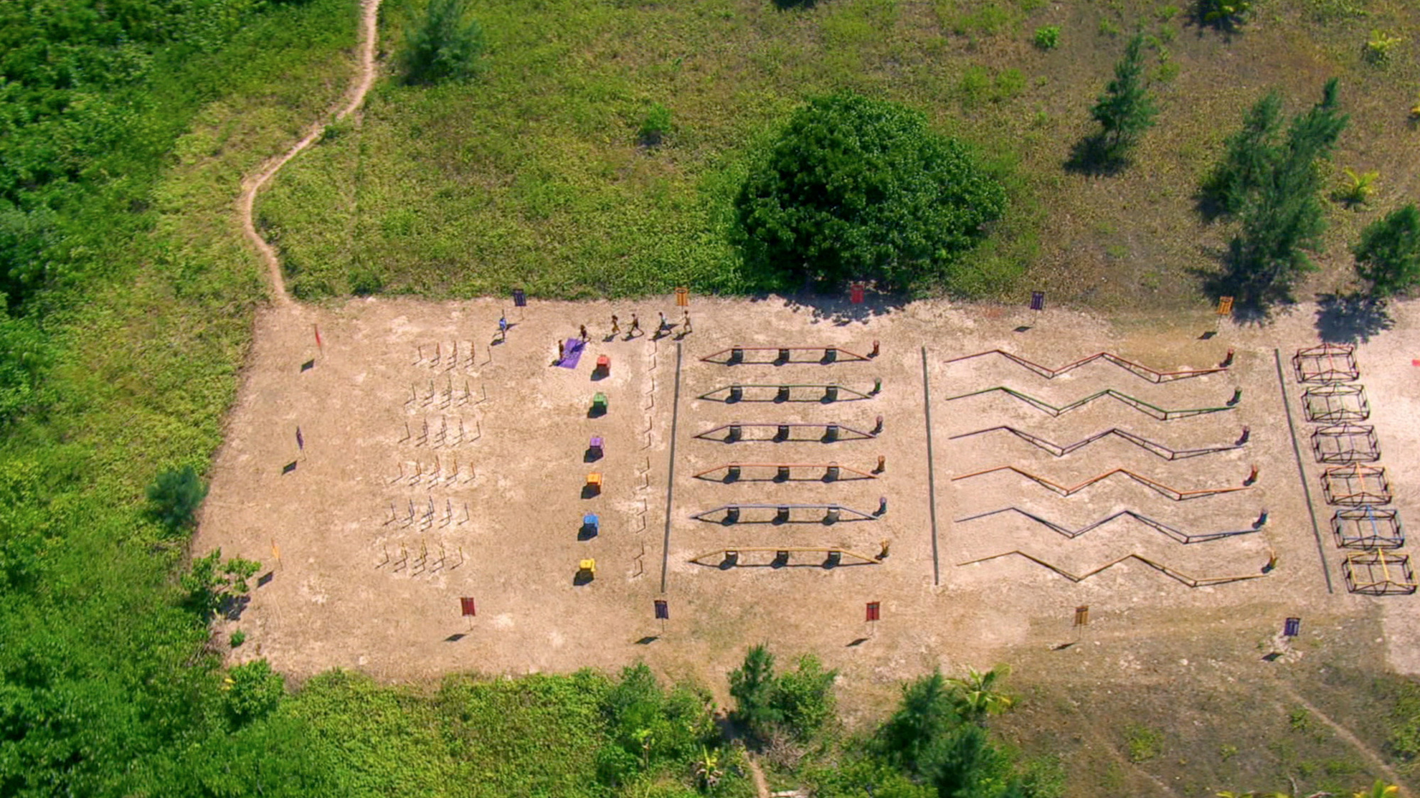 Immunity Challenge course in Season 27 Episode 12