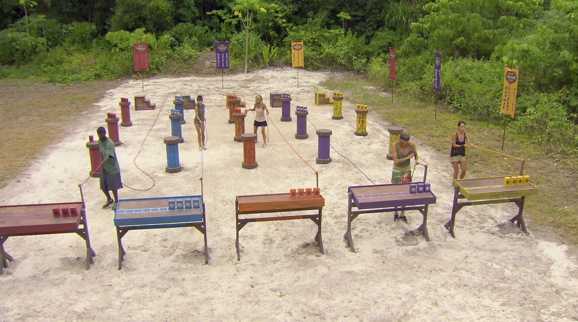 Immunity Competition in the Season 27 Finale