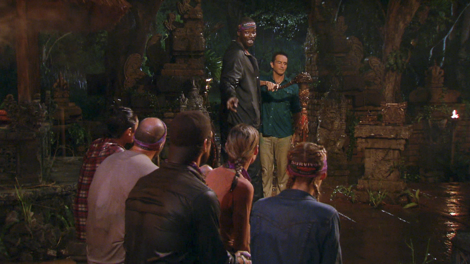 End of Tribal Council in Season 28 Episode 4