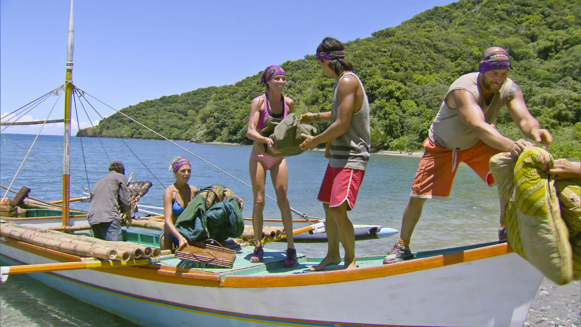 Unloading the boat in Season 28 Episode 6