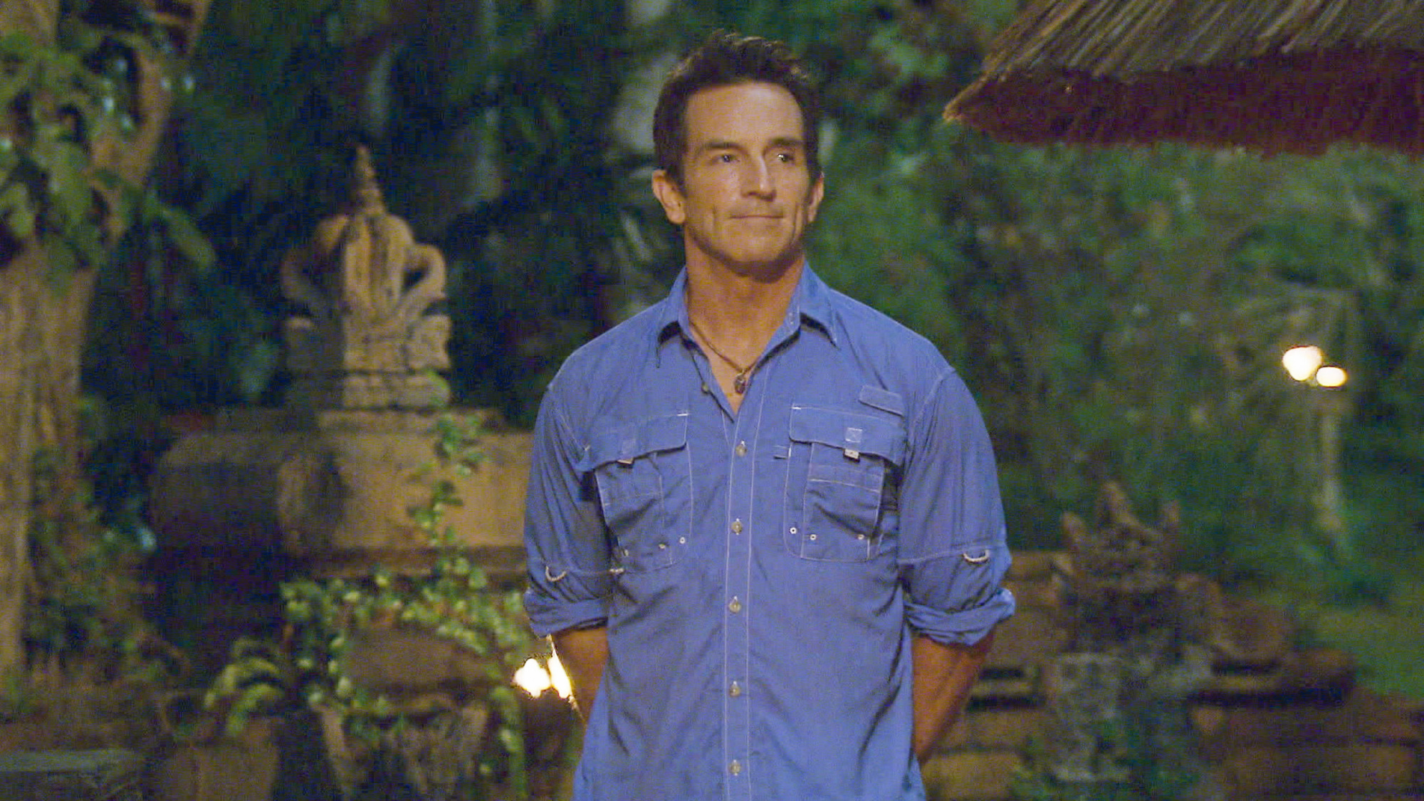 Jeff at Tribal Council in Season 28 Episode 6