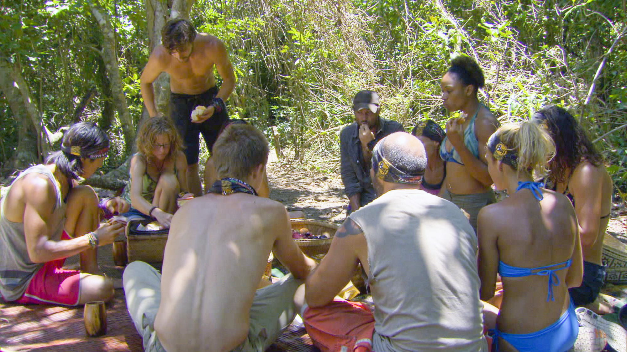 Tribe feast in Season 28 Episode 6