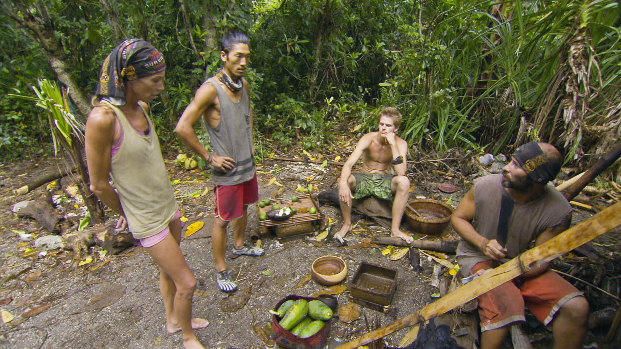 Spending time at camp in Season 28 Episode 11