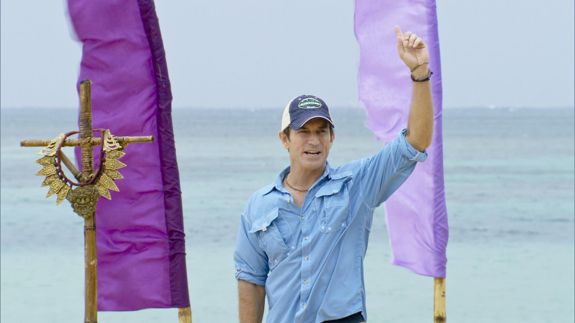 Jeff Probst in Season 28 Episode 11