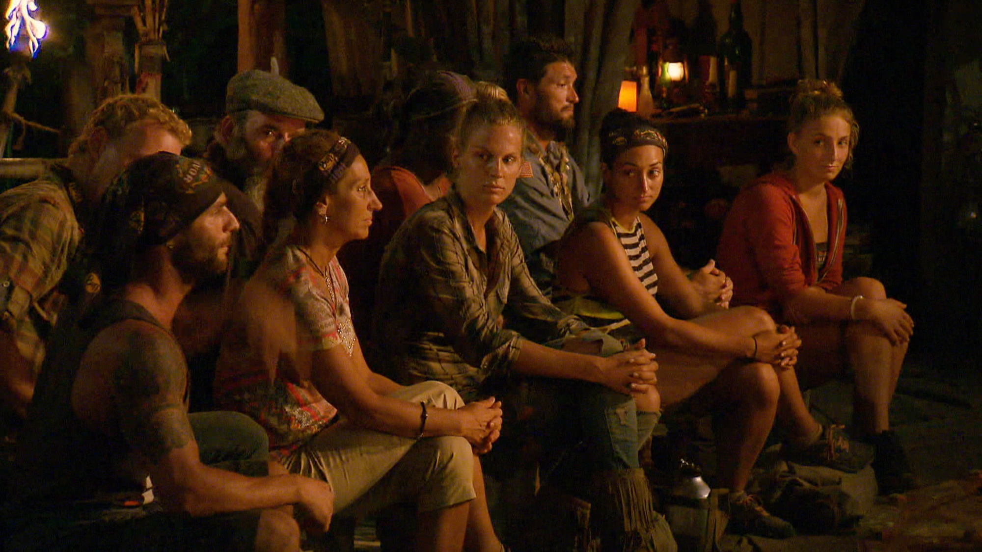 A heated Tribal Council