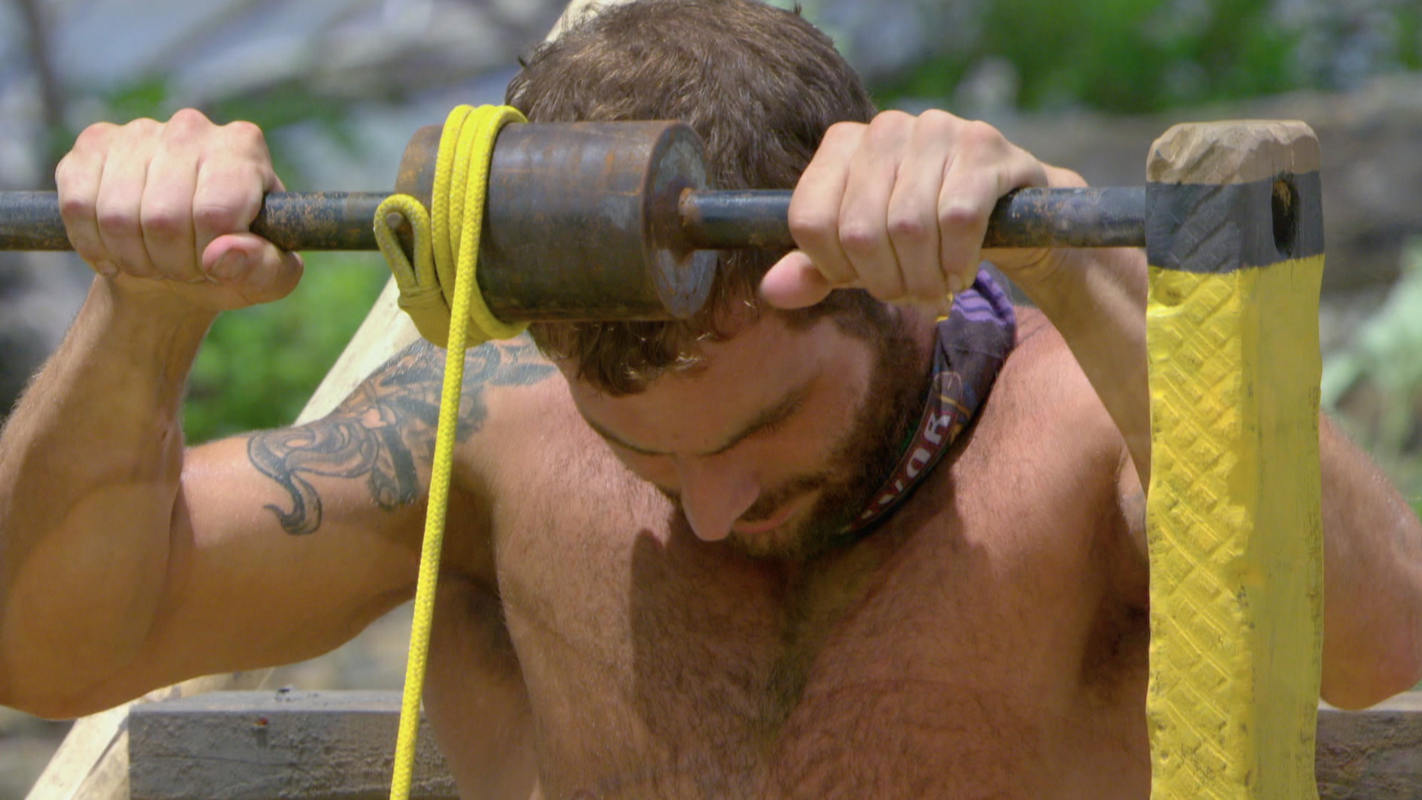 Rodney tries to focus on the challenge