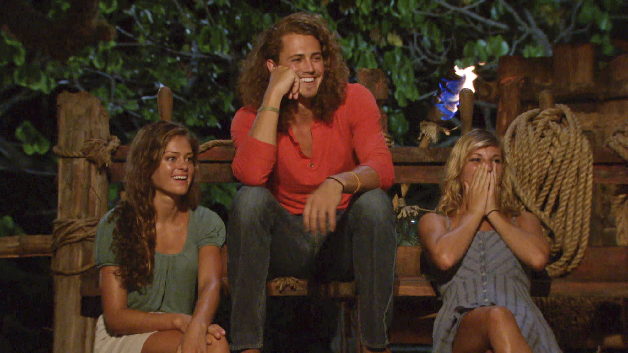 These three come to Tribal Council